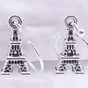 Stirling Silver Eiffel tower Earrings